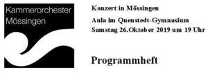 26.Oktober 19 Konzert mit Jakob Schall